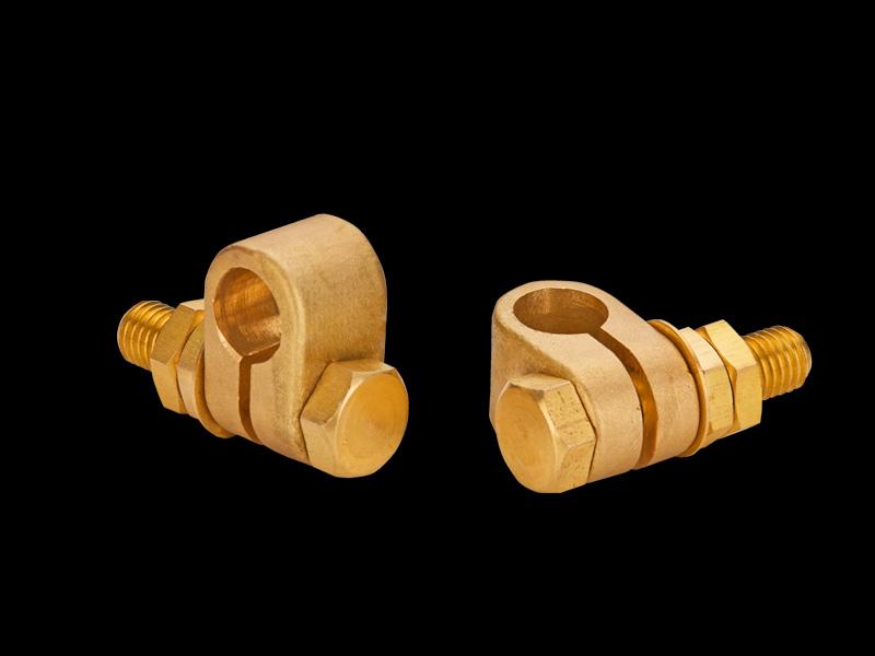 Split connector clamps